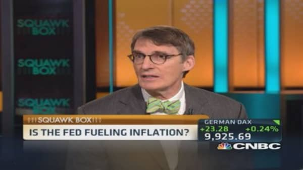 Is Fed feeding flames of inflation?