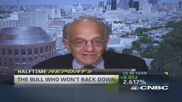 Dow headed to 18K by end of year: Siegel