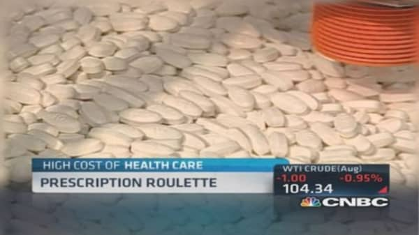 Prescription drugs: Risk vs. cost