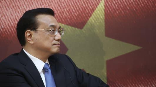 China's premier Li Keqiang.