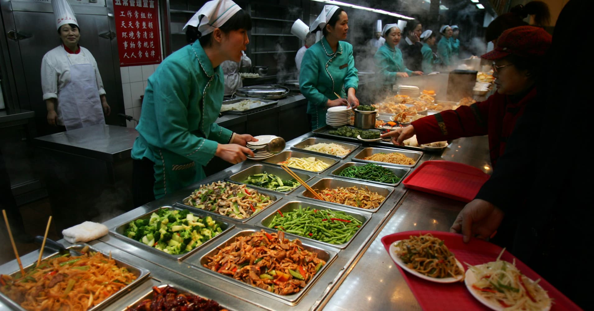Food Delivery And Out Of Home Dining Are Thriving In China