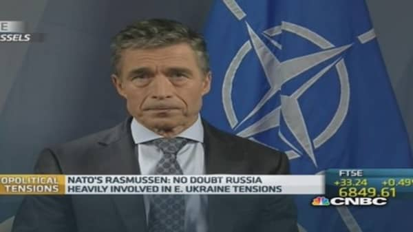 Russia threat a 'wake-up call' to Europe defense: NATO chief