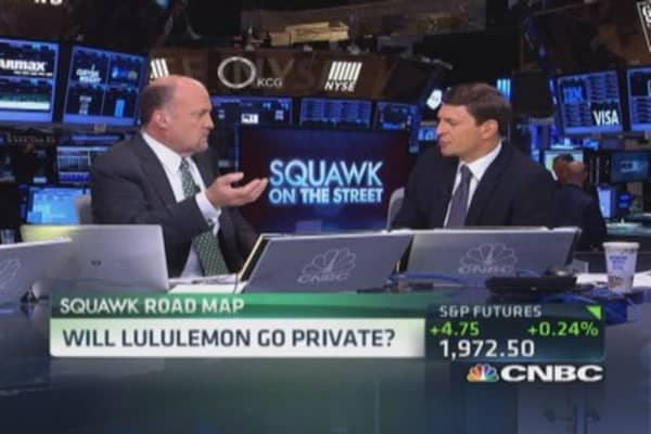 Will Lululemon go private?