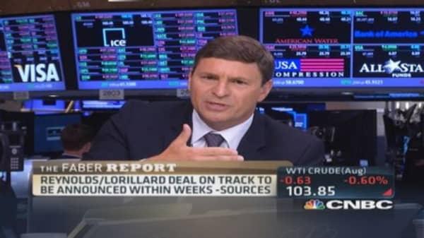 Faber Report: Reynolds/Lorillard on track