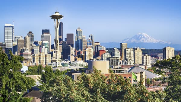 Image result for seattle skyline