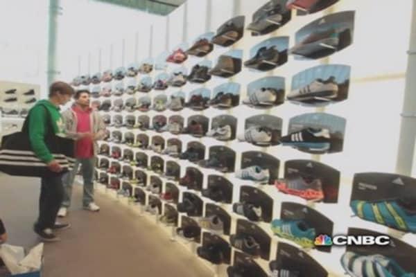 Global rivals: Nike vs. Adidas