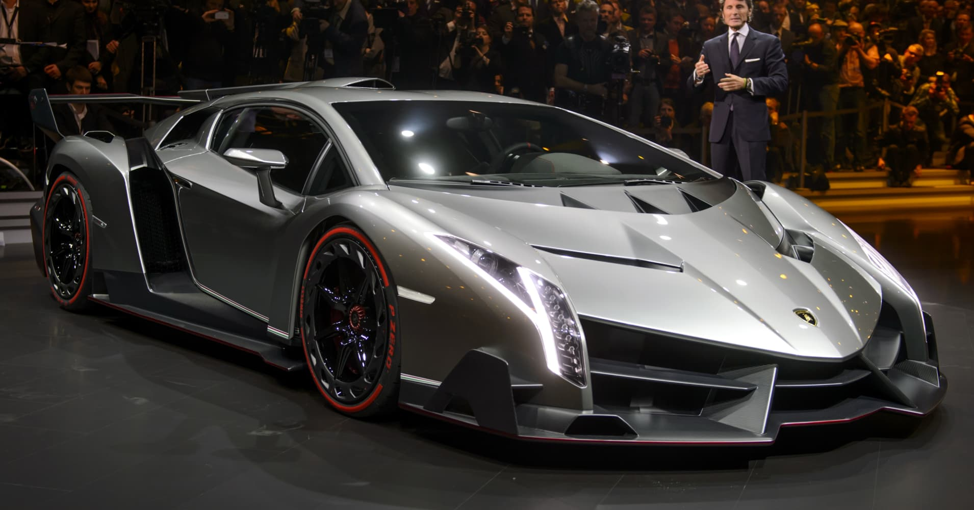 The 4 Million Lamborghini Veneno S Maiden Voyage