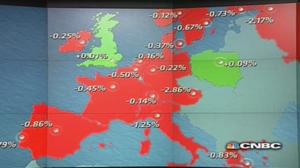 Europe ends the week higher