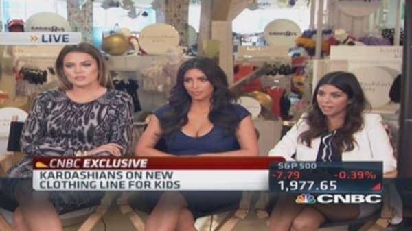 Kardashians: Bringing high fashion to children's line
