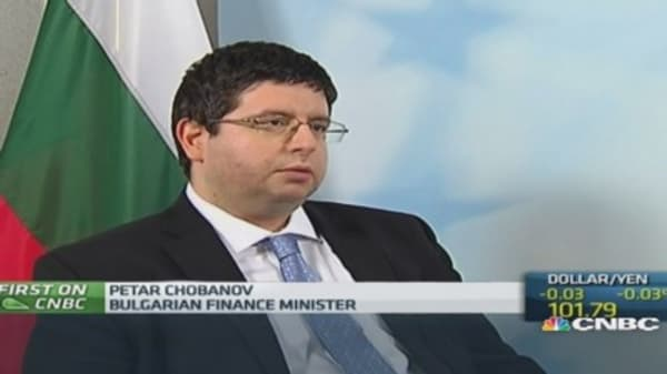 Bond issue shows confidence in Bulgaria: Fin Min