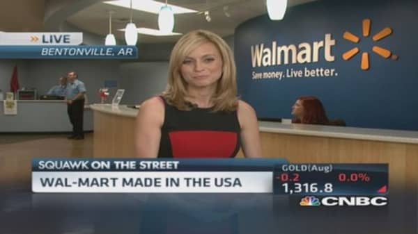 Entrepreneurs step into WalMart's 'Shark Tank'