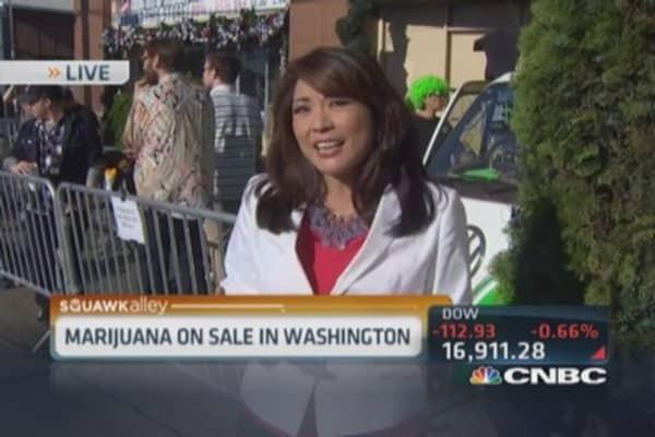 Legal pot in Washington