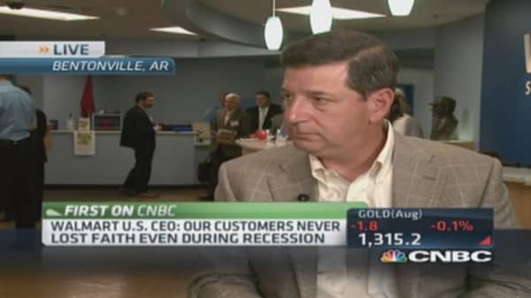 Wal-Mart adapting to changing customer: US CEO