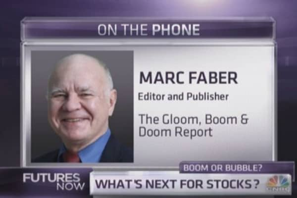 Marc Faber, Schiff, and Gartman talk markets