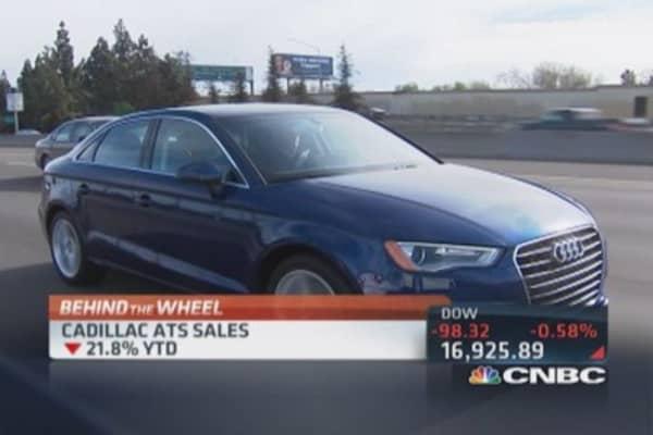 Cadillac sales stalling