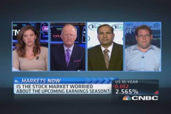 Earnings season warnings