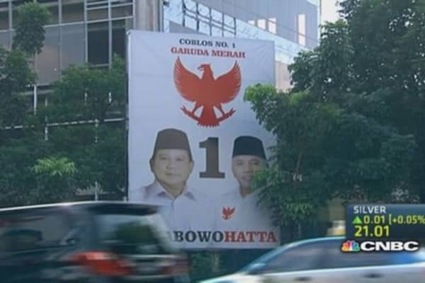 Indonesia heads to the polls to elect new president