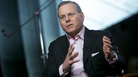 David Zaslav, president and chief executive officer of Discovery Communications