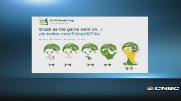 Brazil's loss spurs memes on social media