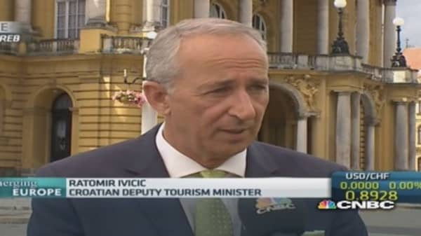 Tourism to grow in Croatia: Tourism Minister