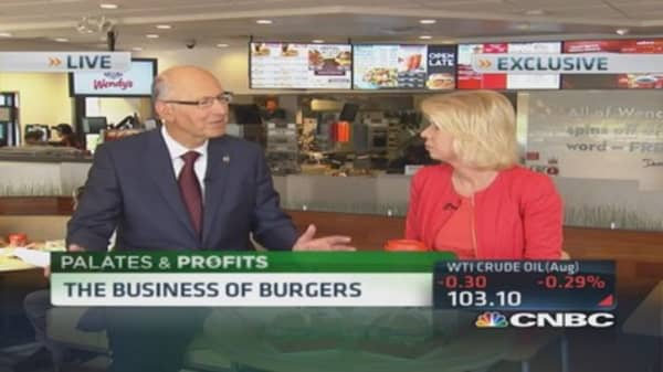 Bacon on everything: Wendy's CEO