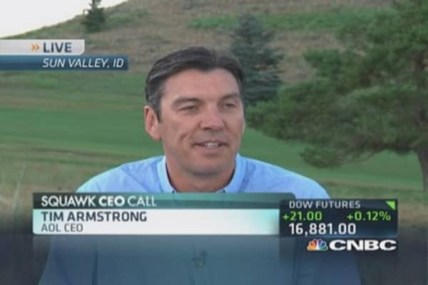 AOL chief wishes Blackberry the best