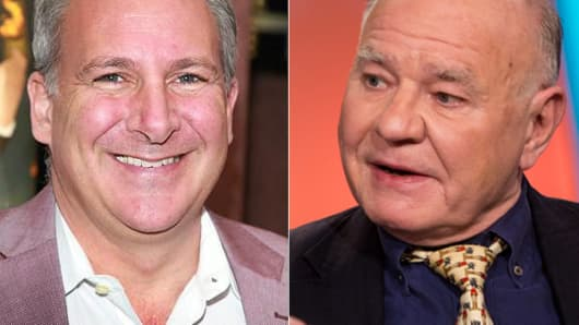 Peter Schiff (left) and Marc Faber