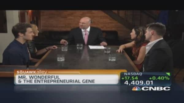 Mr. Wonderful: Is fear of failure in your DNA?