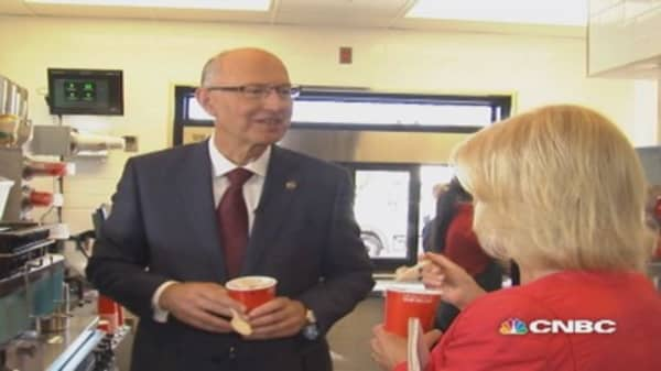 Five questions with Wendy's CEO Emil Brolick