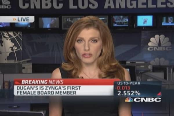 Zynga appoints Google's Regina Dugan to board of directors