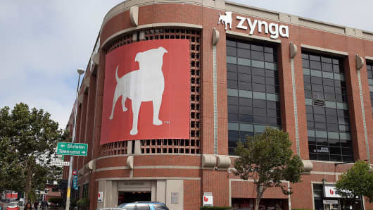 Zynga headquarters is shown in San Francisco.
