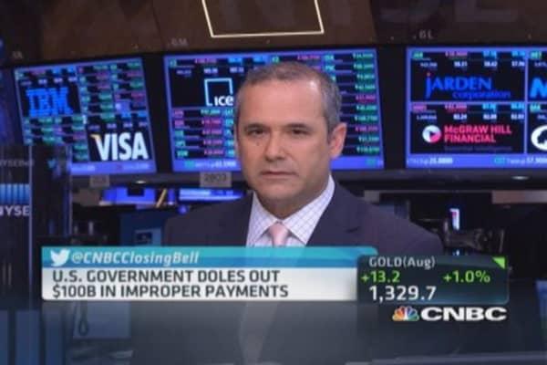 US Gov. doles out $100 billion in improper payments