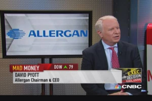 Allergan CEO: Restructuring & unlocking value