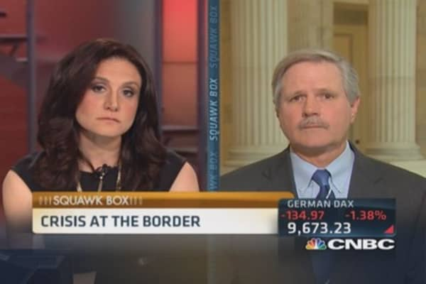 Sen Hoeven's plan to 'enforce the border'