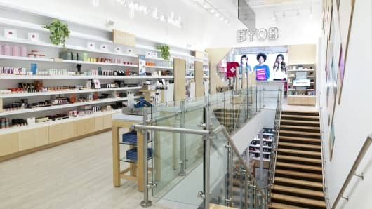 Birchbox store in New York's Soho