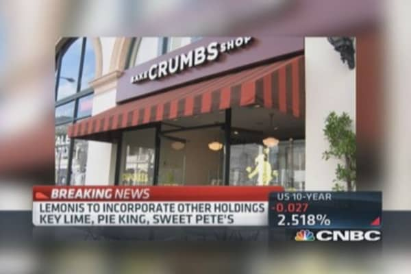 'The Profit' getting into Crumbs?