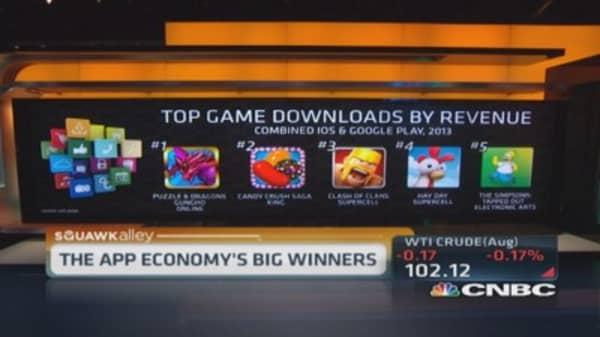 Apple app winners