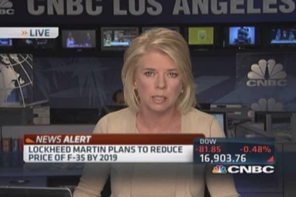 Lockheed Martin to reduce F-35 price