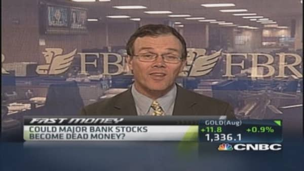 Pro thinks banks will continue to sell off