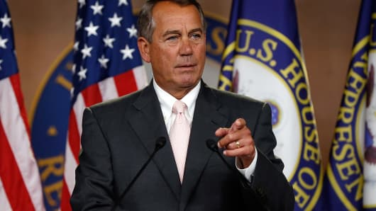 U.S. Speaker of the House John Boehner.