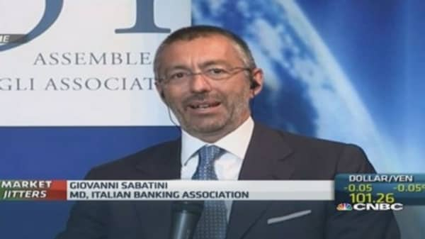 Italian banks 'resilient': Banking body