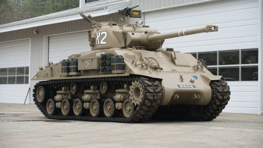 Army Tanks For Sale >> Fleet Of Military Tanks Up For Auction