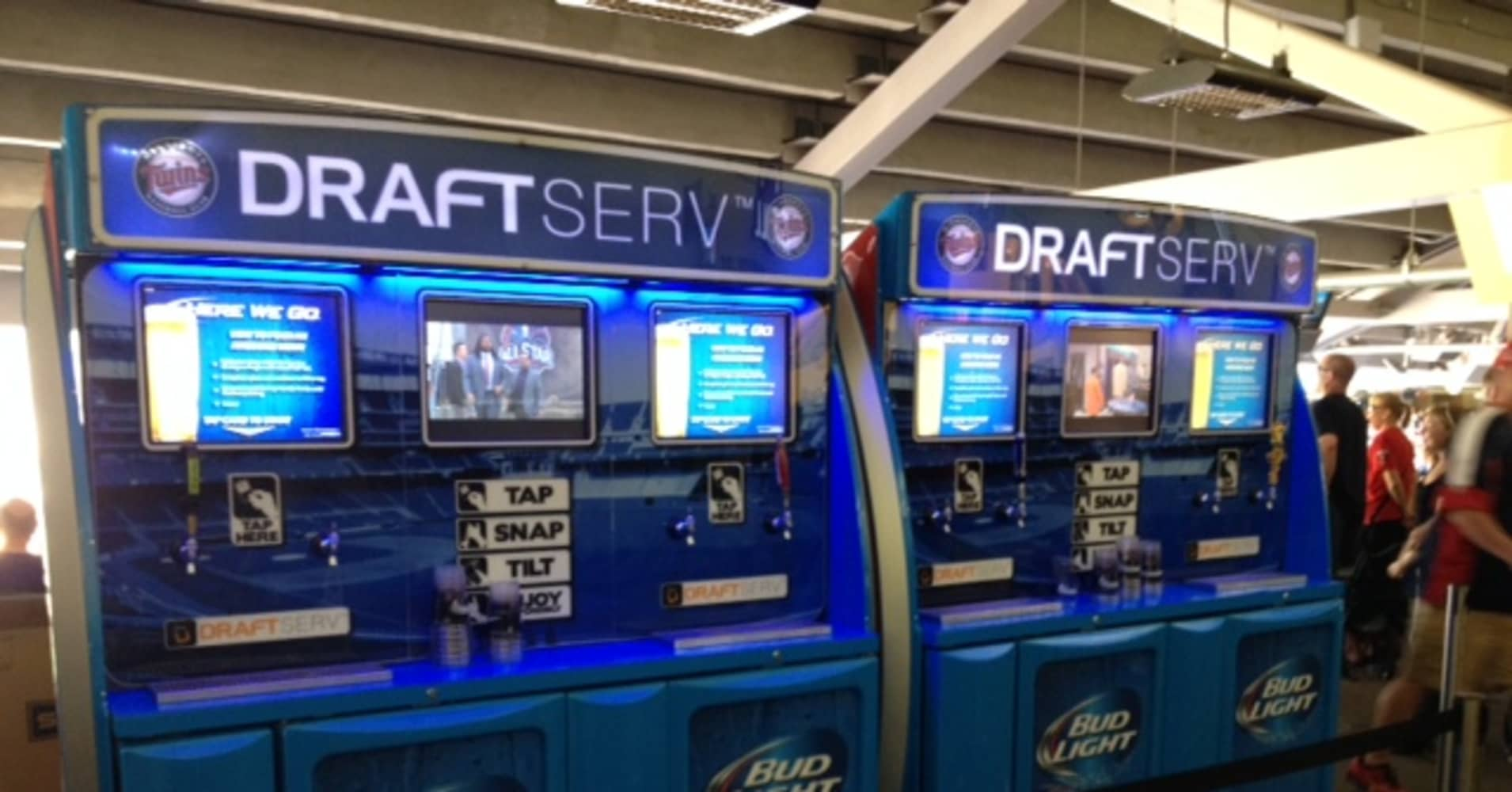 drink up self serve beer hits mlb s all star game