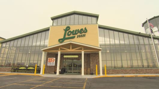 Lowes Foods grocery store in Clemmons, NC.