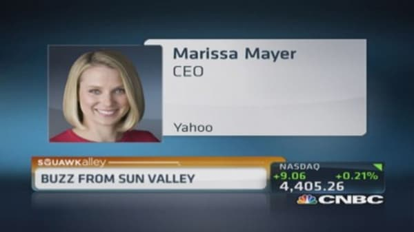 What can spur growth for Yahoo?