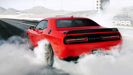The 2015 Dodge Challenger SRT Hellcat