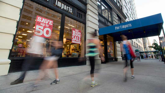 Pier 1 Fitness pier 1 imports' stock craters on disappointing earnings report
