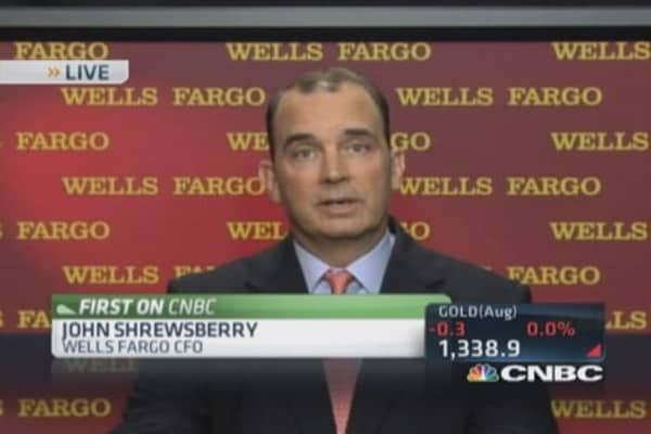 Mortgages business great for Wells Fargo: CFO