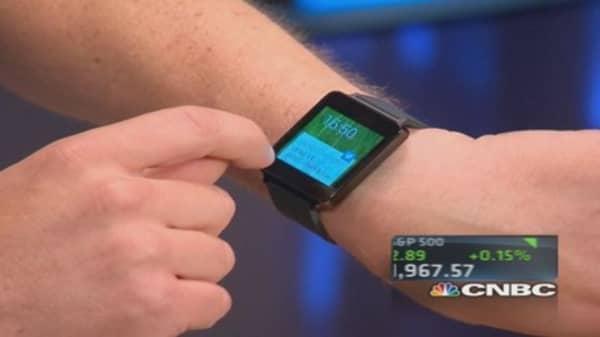 What smart tech is wearing