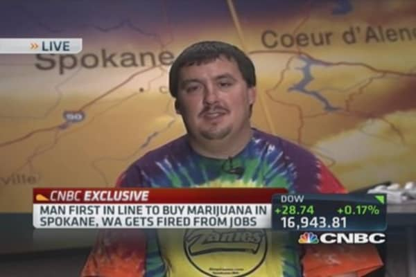 First 'Evergreen State' pot buyer fired, rehired ... sort of